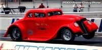 Elbow Miller: '33 Spitzer Willys - 496 BB Chevy