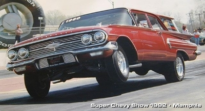 Al Waugh: '60 Chevy Brookwood - 406 SB Chevy - BES Employee