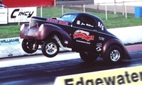 Jim Wilkens: Willys Gasser - 406 SB Chevy