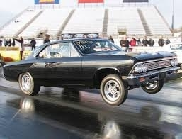 "'66 NHRA Stock Chevelle - 283"" SBC"