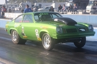 Jim Brandenburg 1973 Vega with a 355 BES Small Block