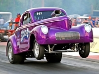 "Randy Sacksteder: '41 Willys Coupe ""Hemi-Fied"" - 392 Chrysler Hemi"