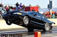 Clint Lonon, fastest 15* SBF with a single plate on 275 Drag Radials